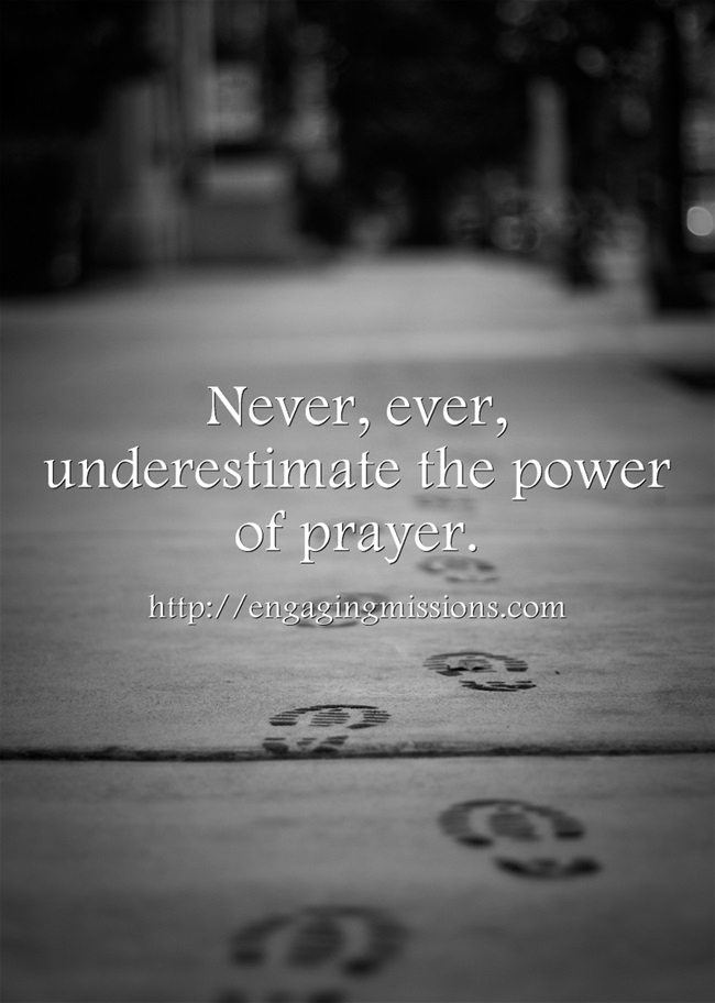Never-ever-underestimate