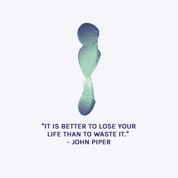 Better to lose your life than…