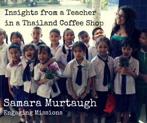 Insights from a Teacher in a Thailand Coffee Shop 1