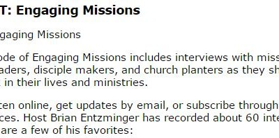 Great words about the Great Commission via @M_Catalyst