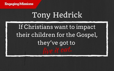 One Heart, One Gospel and One Message in the World, with Tony Hedrick – EM112