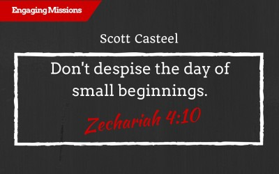 Small Beginnings are Valuable in the Eyes of God, with Scott Casteel – EM121
