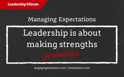 Combining Leadership And Management – Engaging Missions Leadership Moment # 25