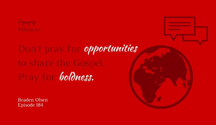 Praying for Boldness: How to Share the Gospel Without Fear in Church Planting, with Braden Olsen – EM184