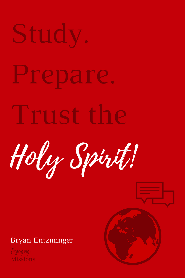 study prepare trust the holy spirit